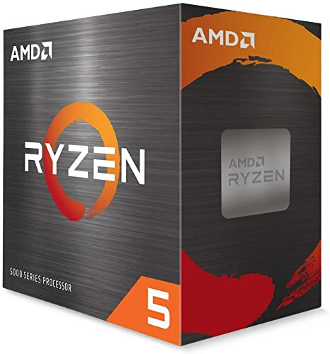 CPU AMD SOCKET AM4 RYZEN 5 5600X BOX, 6 CORES E 12 THREADS, 32MB DI CACHE, MAX CLOCK 4.6GHZ