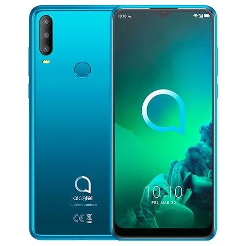 ALCATEL SMARTPHONE 3X 2020 DUAL SIM 6,52 ANDROID 10 Q 4GB 64GB JEWELRY GREEN